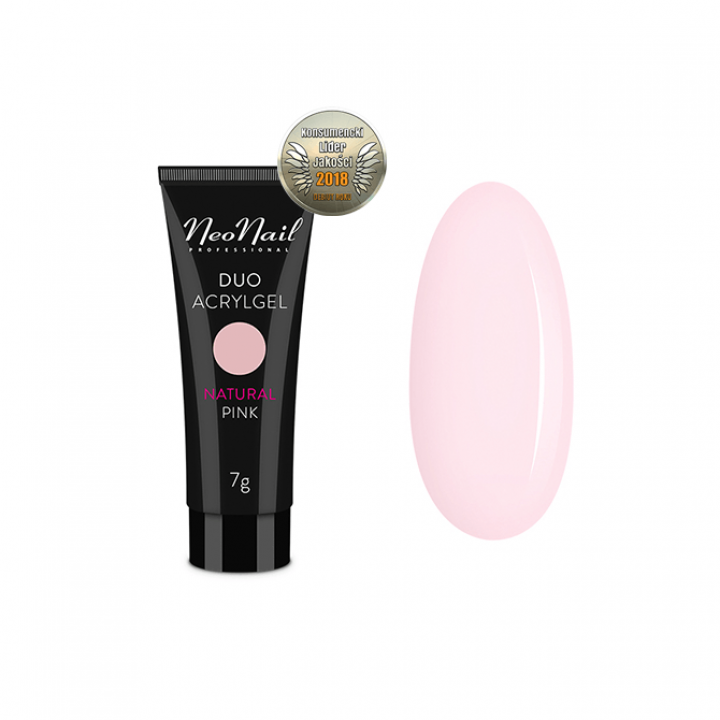 NeoNail Duo Acrylgel Natural Pink - 30 g