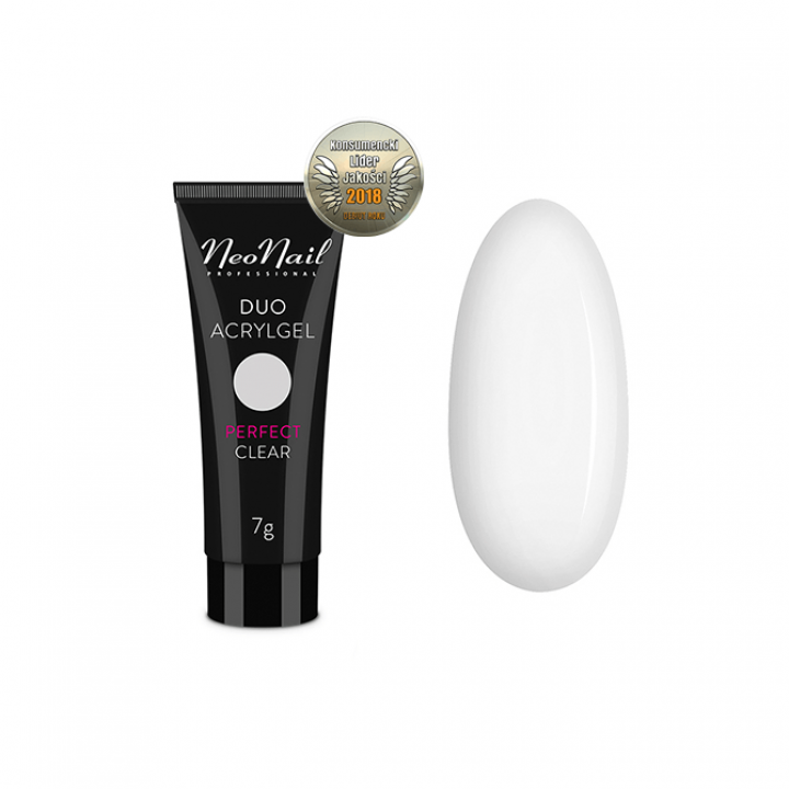 NeoNail Duo Acrylgel Perfect Clear - 60 g
